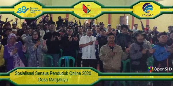 Sosialisasi Sensus Penduduk 2020 Online di Margaluyu