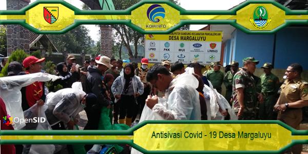 Langkah Antisipatif Desa Margaluyu Dalam Tangani Covid-19